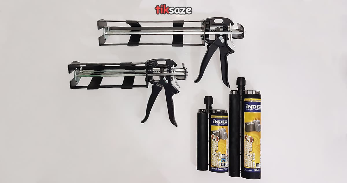 مشخصات-فنی-تفنگ-تزریق--چسب-کاشت-میلگرد-INDEX-MO-PUR-3--385-میل